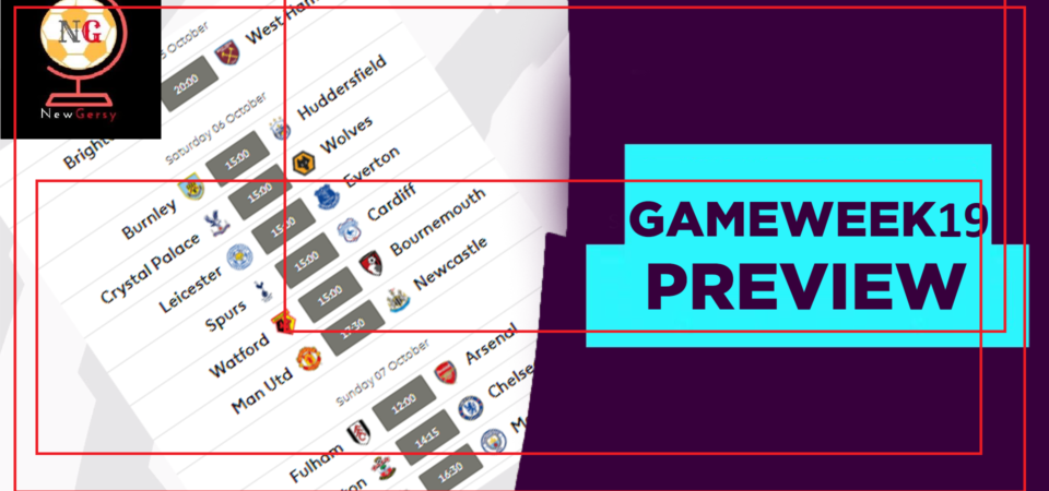Premier League 2018-19 table | Latest EPL fixtures, results and standings for gameweek 19