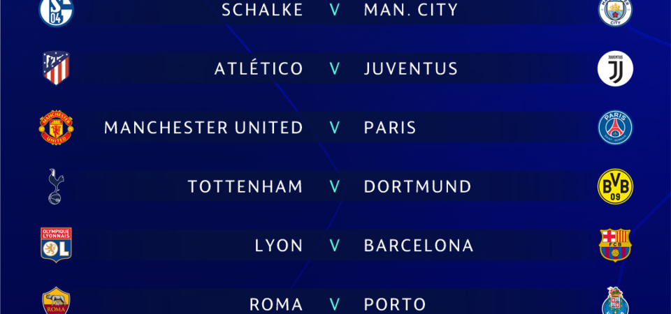 Champions League last 16 draw: When is it, fixtures, teams, how to watch on TV & live stream