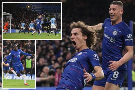 Chelsea 2 Man City 0: Maurizio Sarri outwits Pep Guardiola to leave Liverpool top of Premier League