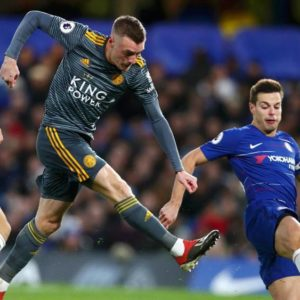 Chelsea 0 Leicester City 1: Jamie Vardy goal seals shock Stamford Bridge win
