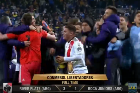 River Plate 3-1 Boca Juniors River Plate Winner of Copa Libertadores final 2018