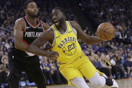 Blazers stun Warriors in overtime Lillard's 3-pointer with 6.3 seconds left wins it