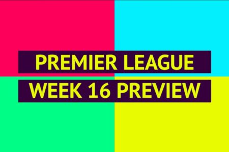 EPL table, fixtures, predictions, results and live scores for Premier League gameweek 16