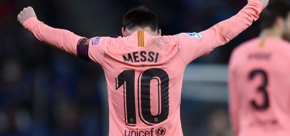 Espanyol 0 Barcelona 4: Lionel Messi nets stunning free kick double in derby thrashing