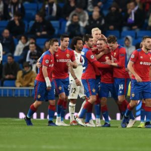 Real Madrid 0 CSKA Moscow 3: Champions League holders shocked in Bernabeu thrashing