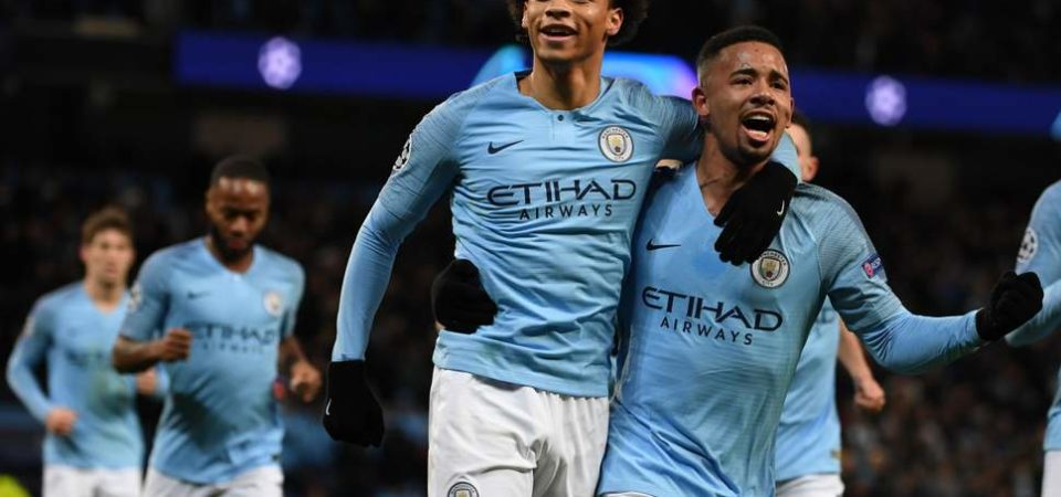 Man City 2 Hoffenheim 1: Leroy Sane double seals top spot in Champions League Group F