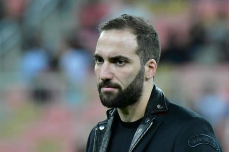 Chelsea sign Gonzalo Higuain on loan from Juventus for rest of season