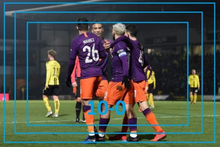 Manchester City break record for biggest EFL Cup semi-final win with Burton triumph
