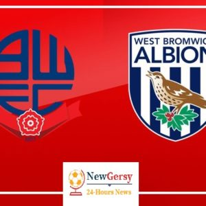 Bolton Wanderers vs West Brom Albion match preview, Live Stream, TV Channels, Team News Match Details for Championship