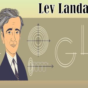 Google Celebrates Physicist Lev Landau's 111th Birthday With A Doodle