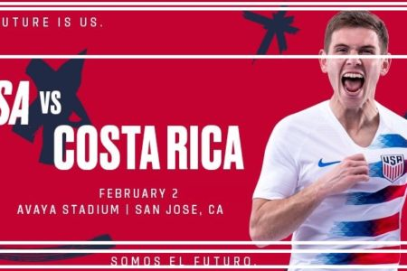 USA vs Costa Rica – Preview, Live Stream Team News, How To Watch Online Friendly Match | 02 Feb 2019