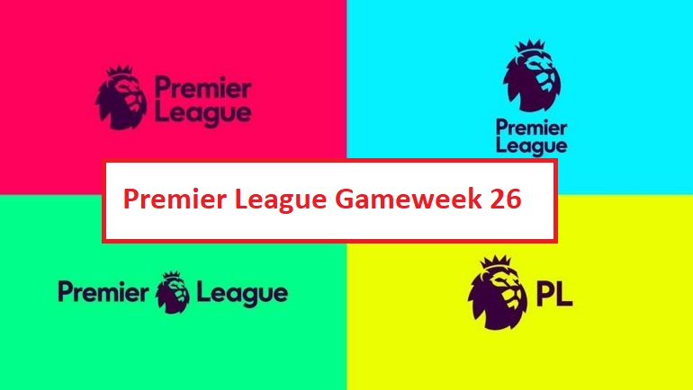 EPL table, fixtures, results, latest scores and Premier League live games on TV – gameweek 26