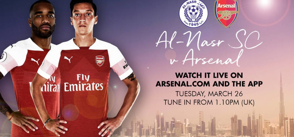 Arsenal vs Al-Nasr live stream, Score prediction, lineups, TV, h2h – Friendly Match