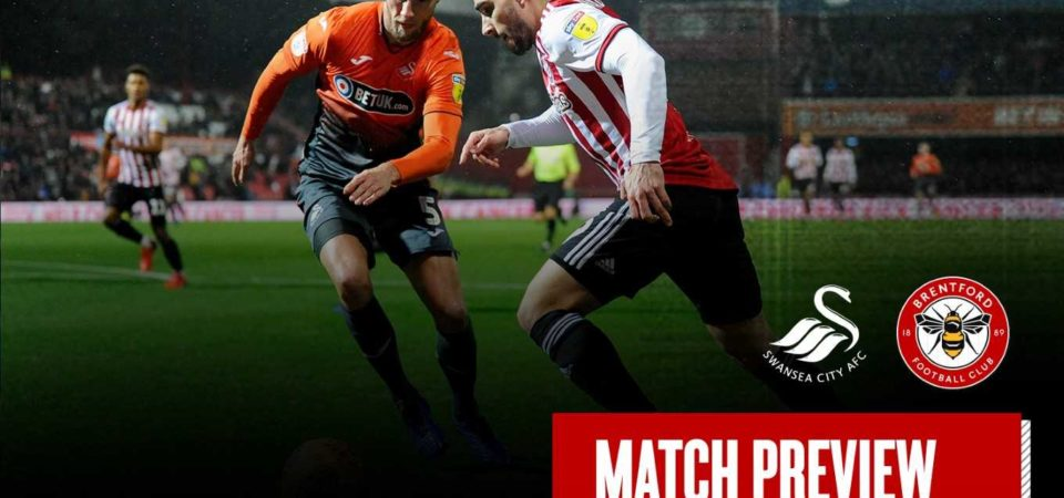 Swansea City vs Brentford preview: Championship clash Between 13th and 15th In Standing Score Prediction