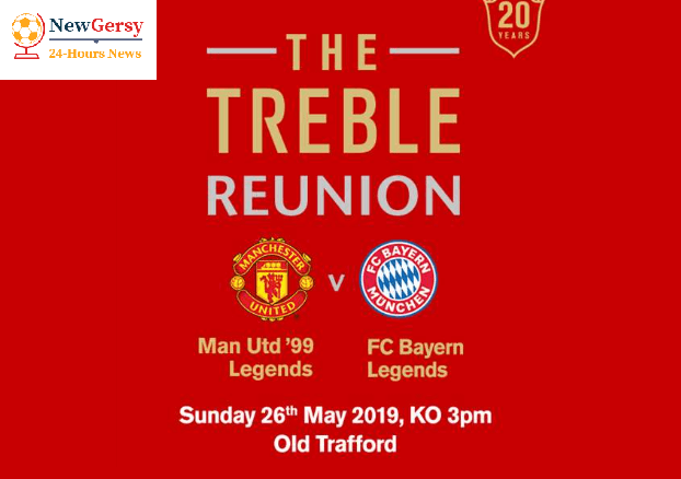 Manchester United Legends vs Bayern Munich Legends Live: Team News, lineups, live stream, TV channel