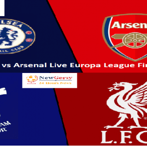Europa League Final: Chelsea vs Arsenal live stream to be shown free by BT on TV, online and on YouTube
