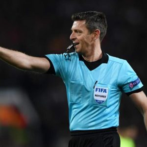 Europa League Final referee: Uefa appoint Gianluca Rocchi for Chelsea vs Arsenal