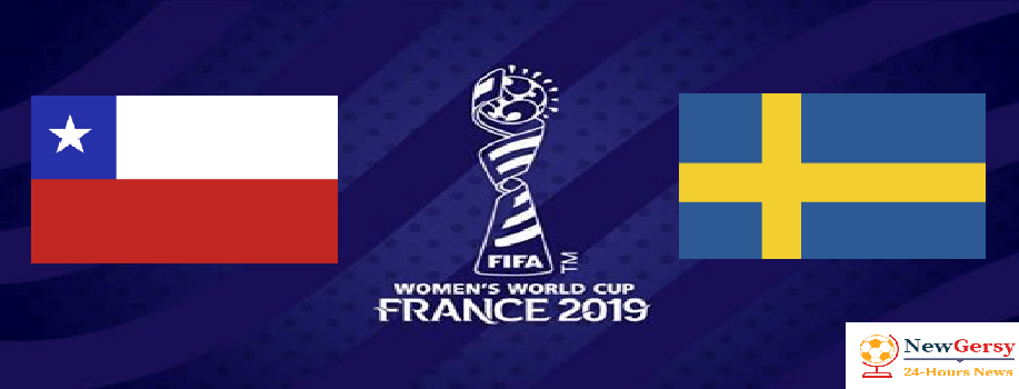 Chile 0-2 Sweden 2019 FIFA Women's World Cup TV channel, live stream, watch online