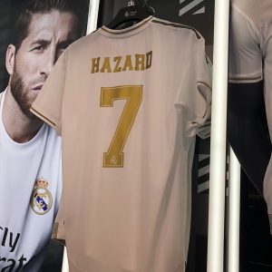 Eden Hazard's Real Madrid shirt number confirmed after £130m Chelsea exit