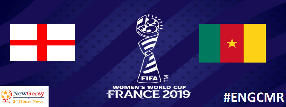 England 2-0 Cameroon: 2019 FIFA Women's World Cup Round 16 live free TV channel, live stream online