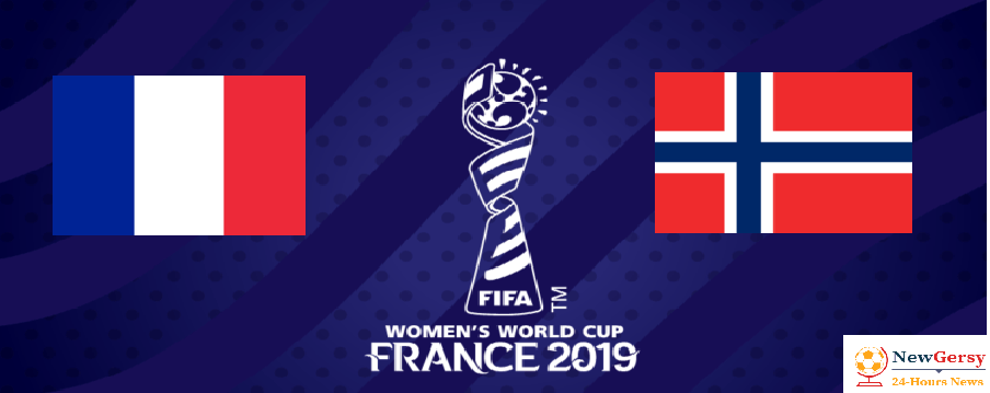 France vs Norway 2019 FIFA Women's World Cup TV channel, live stream, watch online