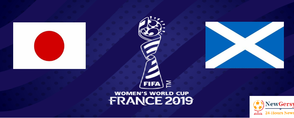 Japan Women vs Scotland Women 2019 FIFA Women's World Cup TV channel, live stream, watch online