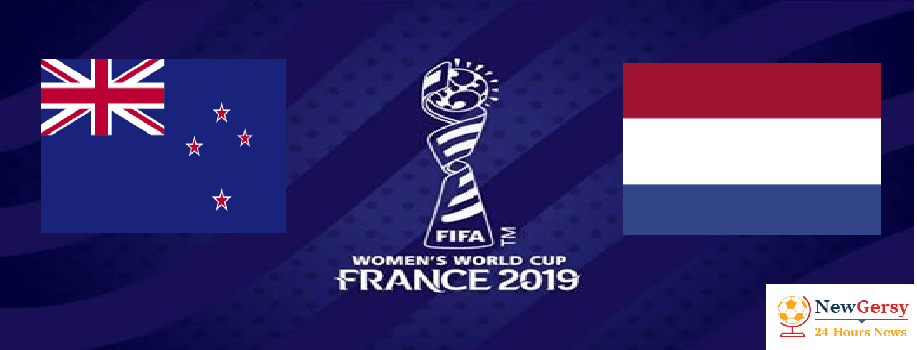 New Zealand 0-1 Netherlands 2019 FIFA Women's World Cup TV channel, live stream, watch online
