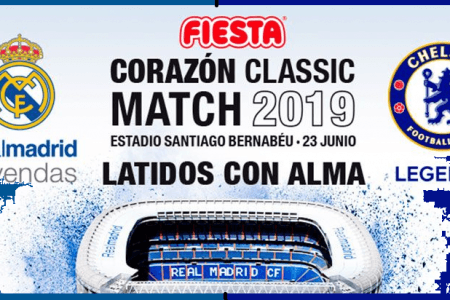 Real Madrid Legends 5-4 Chelsea Legends Live Stream TV channel, Team News, watch online Fiesta Corazón Classic Match 2019
