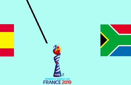 Spain 1-1 South Africa 2019 FIFA Women's World Cup TV channel, live stream, watch online