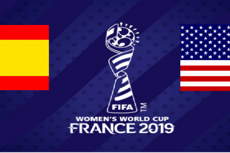 Spain Women vs USA Women: 2019 FIFA Women's World Cup Round 16 live free TV channel, live stream online