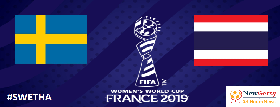 Sweden 5-1 Thailand: 2019 Women's World Cup LIVE, TV channel, live stream, watch online
