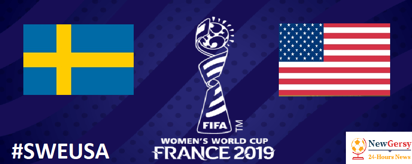 Sweden vs USA: 2019 FIFA Women's World Cup live free TV channel, live stream online
