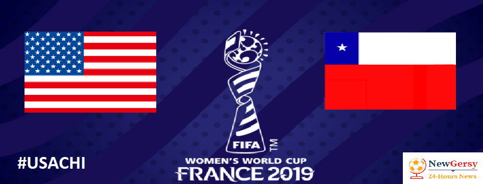 USA 3-0 Chile: 2019 FIFA Women's World Cup LIVE, TV channel, live stream, watch online