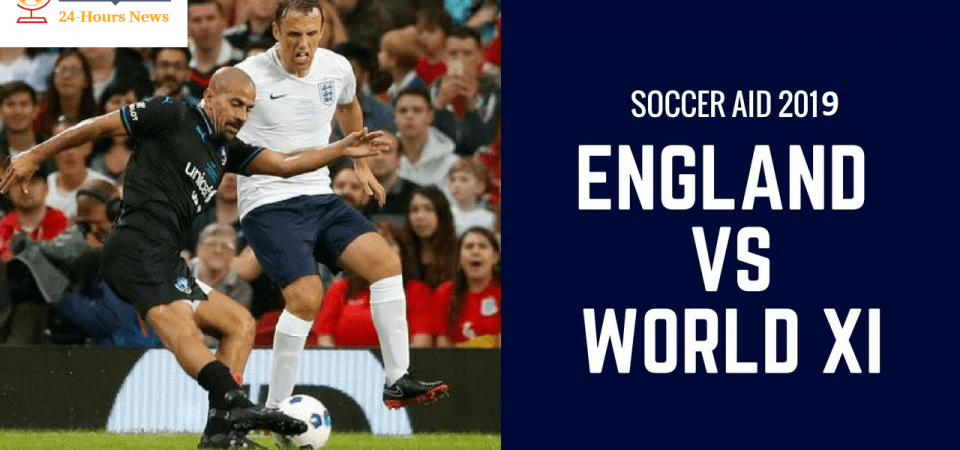 England XI vs World XI: Soccer Aid 2019 Live TV channel, live stream, watch online, game time
