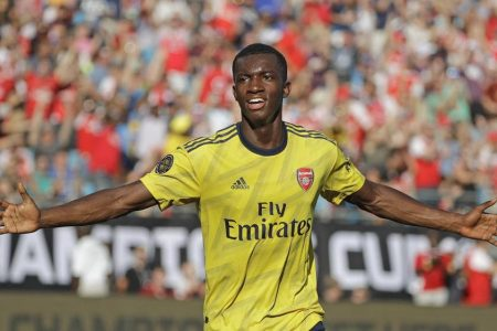 Arsenal 3-0 Fiorentina: Eddie Nketiah and Joe Willock strike in International Champions Cup victory