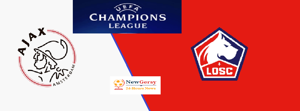 Ajax vs Lille Live stream Champions League Today Match Team News, Start Time, Preview