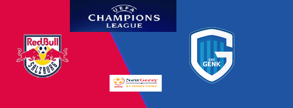 Red Bull Salzburg vs Genk Live stream Champions League Today Match Team News, Start Time, Preview