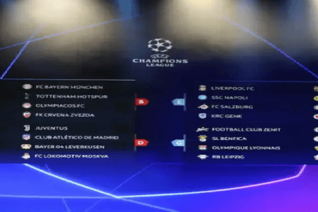 UEFA Champions League Groups 2019-20: Teams, dates and fixtures for this season's European Cup
