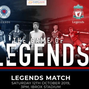 Rangers Legends vs Liverpool legends live stream and team news How to watch Rangers vs Liverpool legends clash LIVE for free