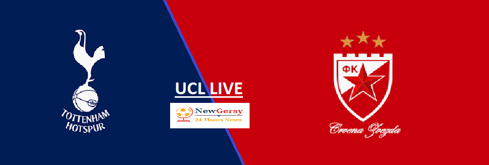 Tottenham 5-0 Crvena Zvezda Live stream Champions League 2019 Today Match Team News, Start Time, Preview