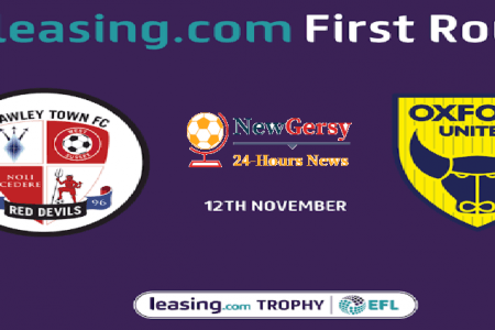 Crawley Town vs Oxford United Live stream Leasing.com Trophy 2019 Today Match Team News, Start Time, Preview