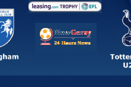 Gillingham vs Tottenham Hotspur U21 Live stream Leasing.com Trophy 2019 Today Match Team News, Start Time, Preview