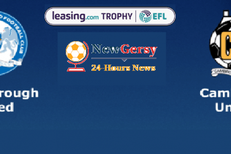 Peterborough United vs Cambridge United Live stream Leasing.com Trophy 2019 Today Match Team News, Start Time, Preview